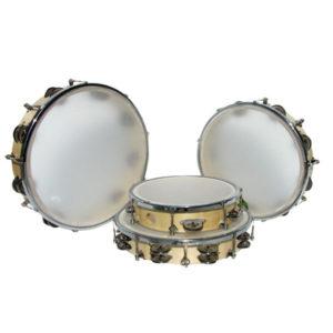 Tamburin stämbar, 8 par bjällror