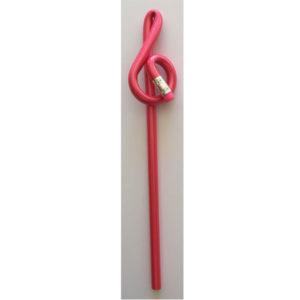 Rosa blyertspenna, G-klav