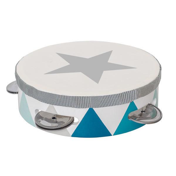 Tamburin trumma, Blå