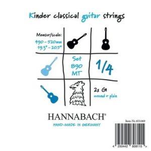 Hannabach | Gitarrsträngar 1/4