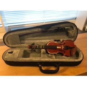 Liten begagnad violin 1/16